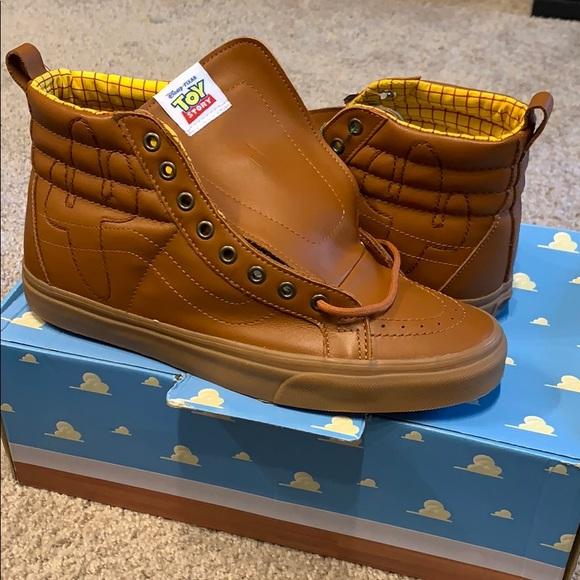 90ae9ee46 Toy Story (Woody) Sk8-Hi Reissue Vans Size 10.5